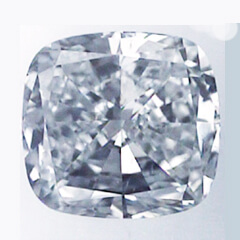 Picture of 1.06 Carats, Cushion Diamond with Very Good Cut, D Color, SI1 Clarity and Certified By IGL