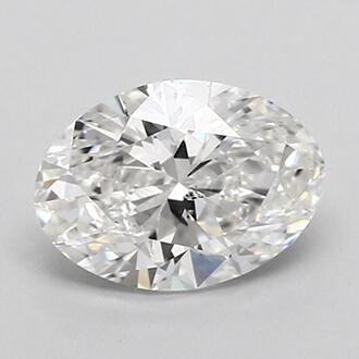Foto 0.70 quilates, diamante ovalado con muy buen corte, color G, claridad SI2 y certificado por GIA de
