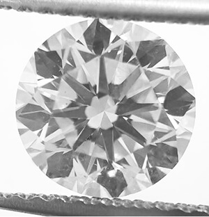 Picture of 1.57 carat Round Natural Diamond F VS2 C.E,Very Good Cut, certified by IGL