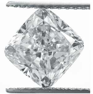 Picture of 2.06 Carat, Cushion natural Diamond with  Ideal-Cut, G Color, VS1 Clarity and Certified by IGL.