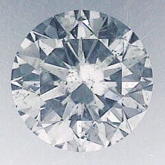 Picture of 1.50 carat Round Natural Diamond F SI1 C.E,Very Good Cut, certified by CGL