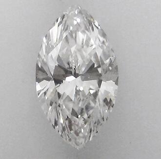 Foto 0.74 quilates, diamante marquesa con muy buen corte, color E, claridad SI2 y certificado por GIA de