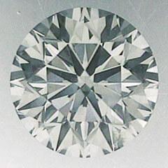 Foto 0.71 quilates, diamante natural redondo con corte ideal, color I, claridad VS2 y certificado por CGL de