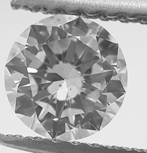 Picture of 0.55 Carats, Round Diamond with Ideal-Cut, D Color,VS2 Clarity and Certified By CGL