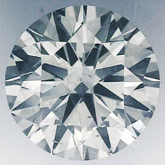 Picture of 0.61 Carats, Round Diamond with Very-Good-Cut, D Color,SI1 Clarity and Certified By CGL
