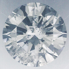 Picture of 0.7 Carats, Round Diamond with Very Good Cut, D Color, SI2 Clarity and Certified By EGS/EGL