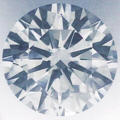 Foto 0.80 quilates, diamante redondo, corte ideal, G VVS2 certificado por CGL de