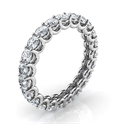 Picture of The waves eternity diamond band, 1.80 carats