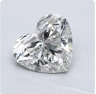Foto Diamante natural de 1.82 quilates H SI2, corte muy bueno y certificado por GIA de