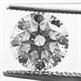 Picture of 0.71 Round Natural Diamond F VS1 C.E Ideal-Cut