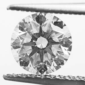 Picture of 0.71 Round Natural Diamond F VS1 C.E Ideal-Cut