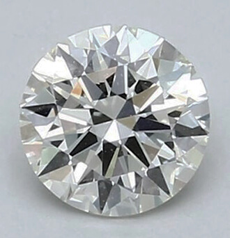 Picture of 0.73 Carats, Round Diamond with Ideal Cut G VS1 and Certified by EGL