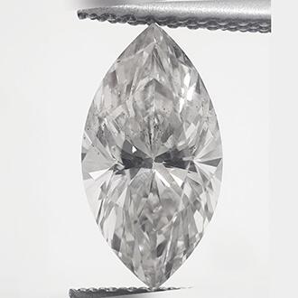 Foto 1.73 quilates, diamante marquesa con muy buen corte, color I, claridad SI1 y certificado por CGL de