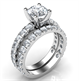 Picture of The set has 1.74 carats of small round diamonds, Average G VS2, Very-Good to Ideal-Cut for maximum brilliance.