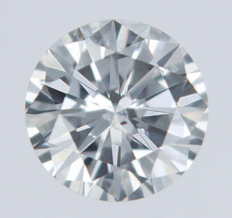 Picture of 0.21 carat round natural diamond H SI1 very good cut