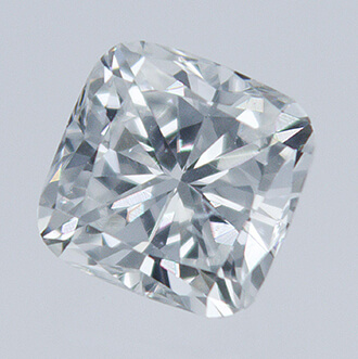 Picture of 0.34 Carats, Cushion natural diamond with Ideal Cut, E Color, VS1Clarity and Certified By CGL