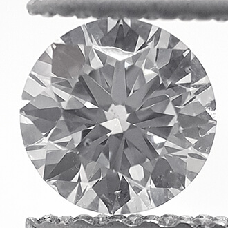 Foto Diamante creado en laboratorio, 0.45 quilates, diamante redondo, corte ideal, certificado D VS1 por CGL. de