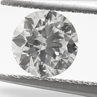 Picture of Lab Grown Diamond,0.56 Carats, Round Diamond.Very Good Cut.D SI1 Certified by CGL