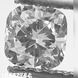 Picture of 0.31 Carats, Cushion natural diamond with Ideal Cut, F Color, SI1 Clarity and Certified By CGL