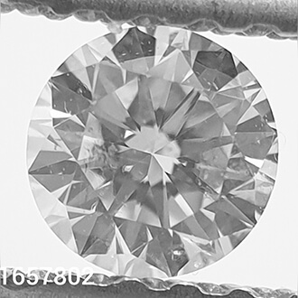 Picture of 0.23 carat, Round diamond H color SI1 Ideal-Cut