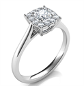 Picture of  Preset Engagement ring with 0.30 center and 0.15 sides