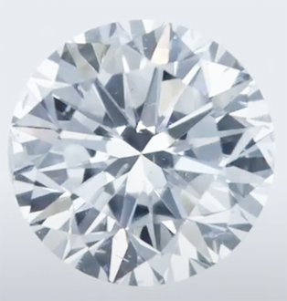 Picture of Lab Grown Diamond,1.09 Carats, Round Diamond,D VS2.Ideal-Cut,Certified by CGL
