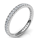 Picture of 2.5mm Eternity Wedding Band, 0.44 carats