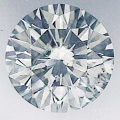 Picture of 1.04 carat Round Natural Diamond I VS2,Very Good Cut, certified by CGL