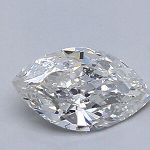 Picture of 0.39 Carats, Marquise Diamond with Good Cut, E Color, VS2 Clarity and Certified By Diamonds-USA
