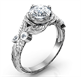 Picture of Leaf engagement ring