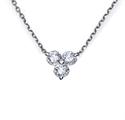 Foto Colgante de diamantes de 1/3 quilates de