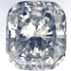 Picture of 0.29 Carats, Cushion natural diamond with Ideal Cut, G Color, SI1 Clarity and Certified By CGL