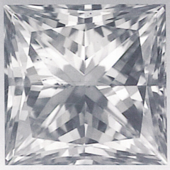 Picture of 1.02 Carats, Princess Diamond with Ideal Cut, D Color, VS2 Clarity and Certified By IGL