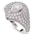 Picture of Diamond signet ring 1.25 carat total