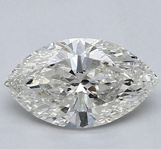 Picture of 1.51 Carats, Marquise Diamond with Very Good Cut, I Color, VS2 Clarity and Certified By IGL