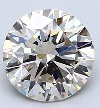 Picture of 0.90 Round Natural diamond, G VS1 Ideal cut