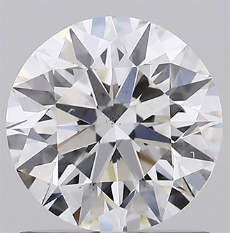 Picture of Lab created Diamond,0.91 F VS2 certified by IGI
