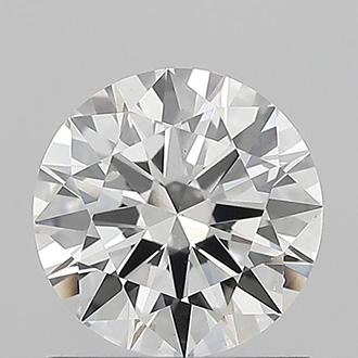 Picture of Lab created Round diamond,1.00 carat, F VS2 Ideal-Cut, certified by IGI