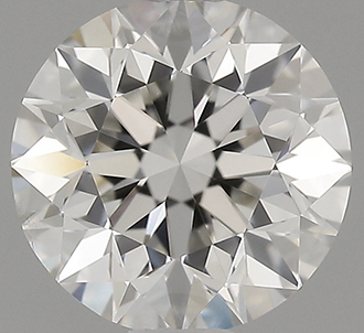 Picture of Lab created Round diamond,1.00 carat, H VS2 Ideal-Cut, certified by IGI