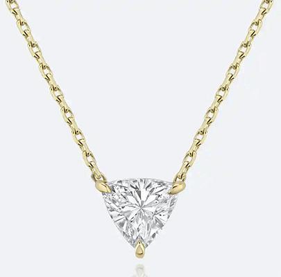 Pendant forTriangle Diamond