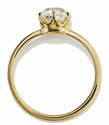 Picture of Vintage replica low profile solitaire engagement ring