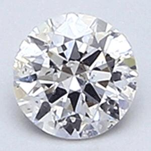 Foto 1203000 diamantes con claridad realzada Corte Redondo 0.20Q F SI1 Ideal  de