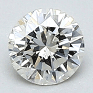 Picture of 0.21  carats, Round Diamond with Very-Good Cut, I, SI1 C.E, and Certified By Diamond with Very-Good Cuts-usa