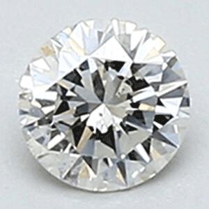 Foto 0.21 quilates, Round Diamond, I, SI1 C.E y Certified By Diamonds-usa de
