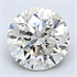 0.25 carats, Round Diamond with Good Cut, H SI2 C.E, and Certified By EGS/EGL, Stock 1203004
