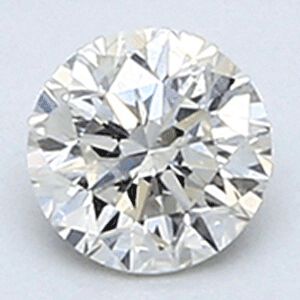 Picture of 0.25 carats, Round Diamond with Good Cut, H SI2 C.E, and Certified By EGS/EGL