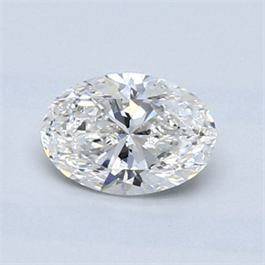 Picture of 0.70 Carats, Oval Diamond with  Cut, G Color, VS2 Clarity and Certified by GIA