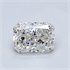 0.93 Carats, Radiant Diamond with Very Good Cut, F Color, SI1 Clarity and Certified By IGL, Stock 1421102