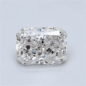 Picture of 0.93 Carats, Radiant Diamond with Very Good Cut, F Color, SI1 Clarity and Certified By IGL