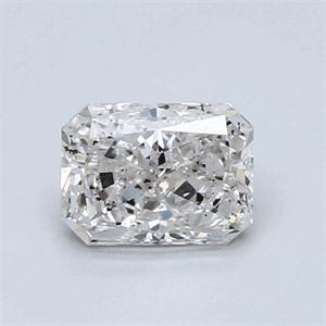 Foto 0.93 quilates, diamante radiante con muy buen corte, color F, claridad SI1 y certificado por IGL de
